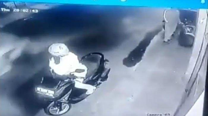 Hendak Pulang Kerja, Pegawai Barbershop di Kota Malang Ini Kaget saat Motornya Raib