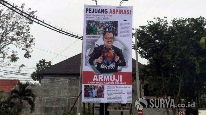 Reklame Armuji Terus Bermunculan di Surabaya, Kali Ini Bertema Milenial: Sosialisasi yang Menghibur