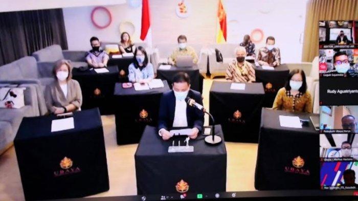 Ubaya Tanda Tangani MoU Kampus Merdeka dengan Tujuh Perguruan Tinggi Negeri