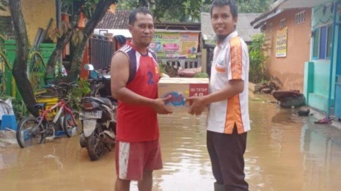 Relawan BMH Salurkan Bantuan Untuk Banjir Lumajang