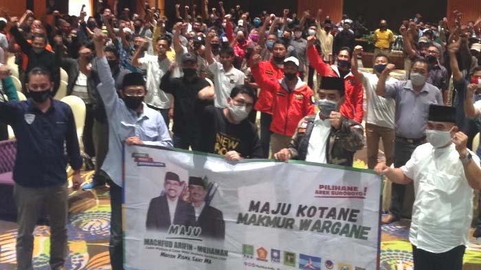 Pilwali Surabaya 2020: Komunitas Nahdliyin Surabaya Bergelora Siap Menangkan Machfud - Mujiaman