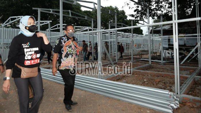 Manfaatkan Tandon untuk Kebutuhan Air di Tempat Relokasi Pedagang Pasar Besar Kota Batu