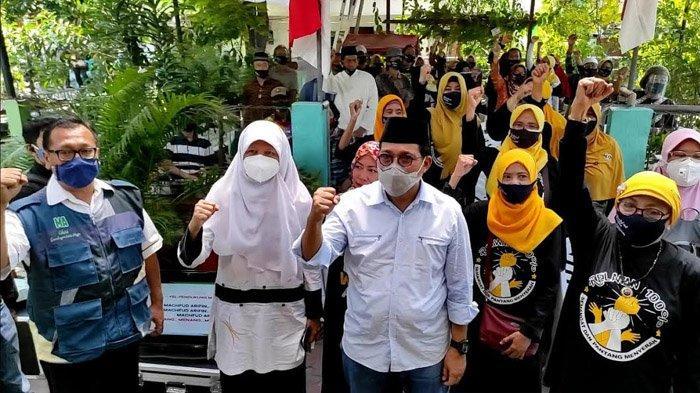Pendaftaran ke KPU Surabaya Semakin Dekat, Reni Astuti Sering Terlihat Mendampingi Machfud Arifin
