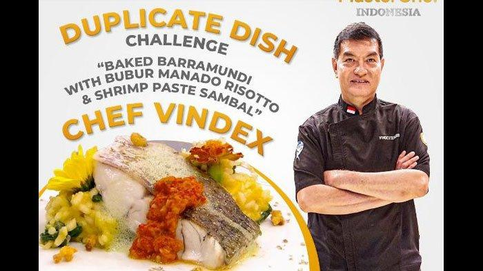 Resep Risotto Bubur Manado ala Chef Vindex di Grand Final Masterchef Indonesia, ini Cara Membuatnya