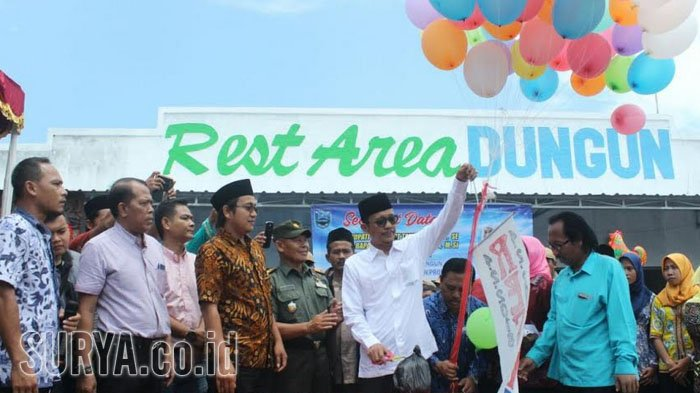 Rest Area Desa Dungun Diresmikan, Ini Harapan Pemkab Probolinggo untuk Masyarakat
