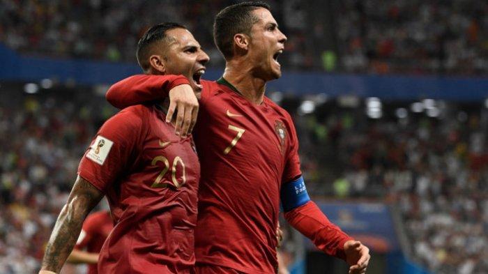 Hasil Babak 1 Piala Dunia 2018 Iran vs Portugal, Ricardo Quaresma Bawa Portugal Unggul 1-0