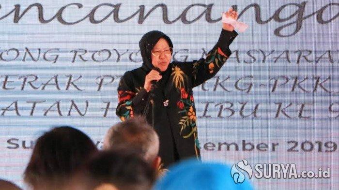 Risma Minta Bonek Redam Emosi Tanggapi Fenomena Gangster di Surabaya: Percayakan Kepada Petugas