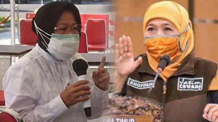 UPDATE PSBB Surabaya Raya III Berakhir Hari ini Senin 8 Juni 2020, Risma: Warga Tak Bisa Makan