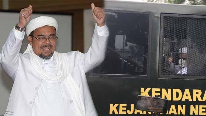Live Streaming Jaksa Diprotes Terdakwa Rizieq Shihab, Saat Eksepsi Habib Minta Jaksa Polisi Tobat