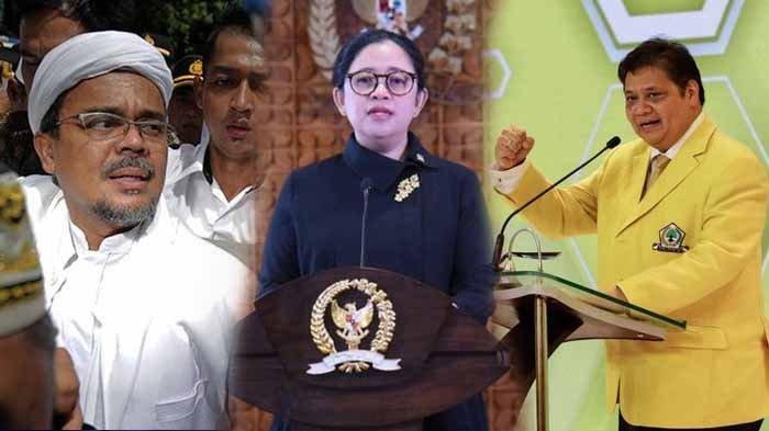 Survei Bursa Capres LSI: Rizieq Shihab Jauh Mengalahkan Puan Maharani, Erick Thohir dan Airlangga