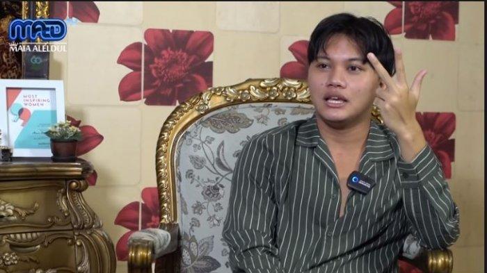 Rizky Febian membeberkan isi percakapan dengan Teddy, suami Lina Jubaedah