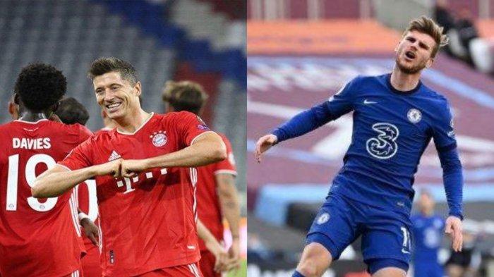 Chelsea Bisa Dapatkan Robert Lewandowski, Asal Timo Werner ke Bayern Munchen