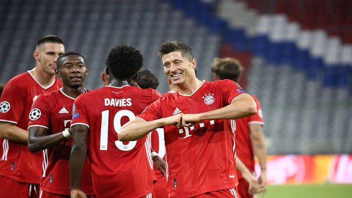 SEDANG BERLANGSUNG Link Live Streaming Lazio vs Bayern: Lewandoski & Immobile Starter