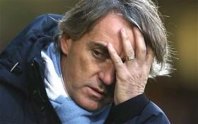 Lazio Tundukkan Inter Milan, Mancini Kecewa Berat