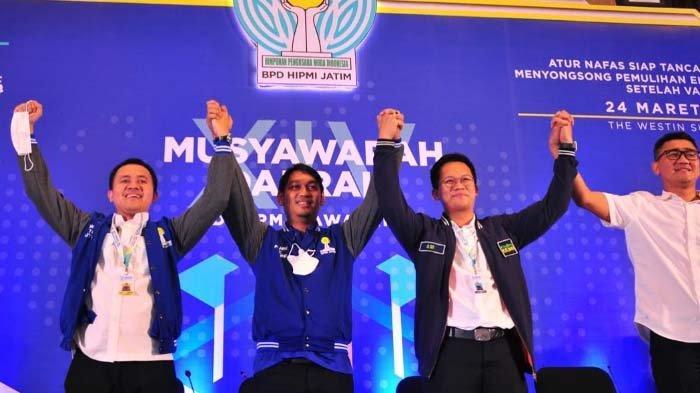 Rois Maming Terpilih Pimpin HIPMI Jawa Timur Periode 2021-2024
