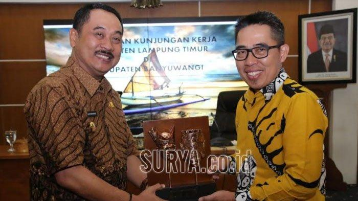 Angka Kemiskinan Masih Tinggi, Bupati Lampung Timur Belajar ke Banyuwangi