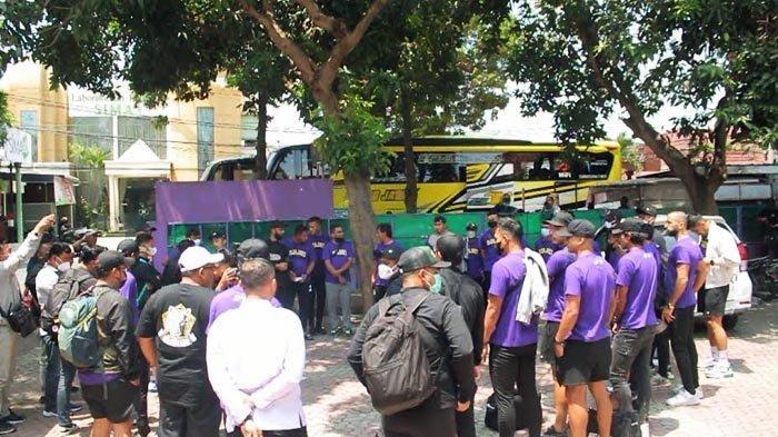 Rombongan Persik Kediri Berangkat ke Solo, Hadapi PSIS Semarang dalam Lanjutan Liga 1 2021