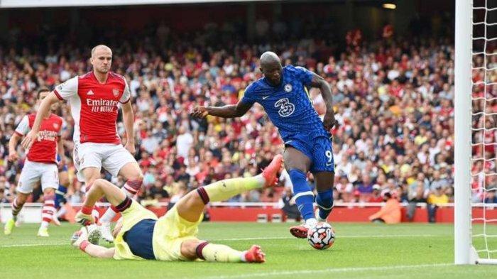Romelu Lukaku baru mencetak satu gol bersama Chelsea musim ini.