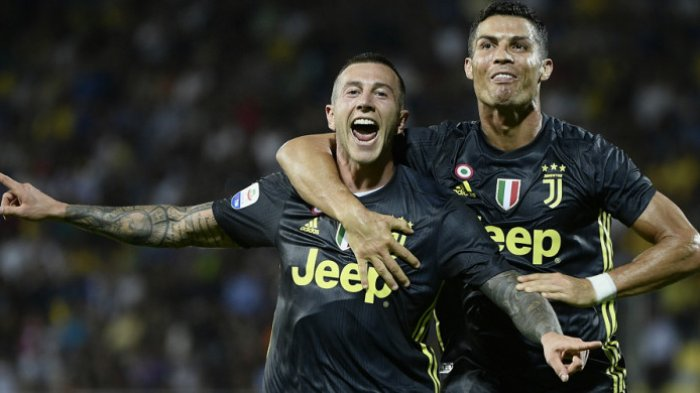 Hasil Liga Italia - Gol Cristiano Ronaldo Bikin Juventus Kokoh Puncaki Klasemen