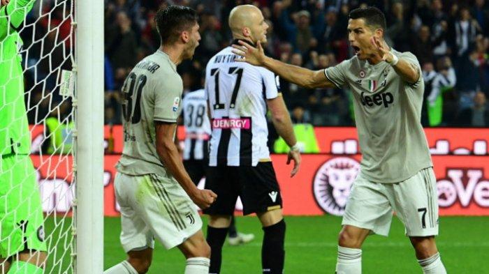 Hasil Liga Italia - Cristiano Ronaldo Bawa Juventus Sempurna dan Kokoh Puncaki Klasemen