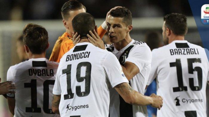 Hasil Liga Italia - Satu Asist Cristiano Ronaldo Mantapkan Juventus di Puncak Klasemen