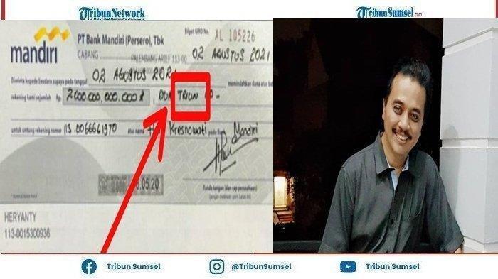 Donasi Rp 2 Triliun, BG A/n Heryanti Terindikasi Hoaks, Ini Tandanya, Diungkap Roy Suryo