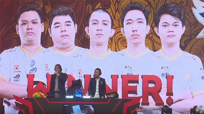 RRQ Hoshi Juarai MPL Season 6 usai tumbangkan Alter Ego 3-2 di babak Grand Final, Minggu (18/10/2020),