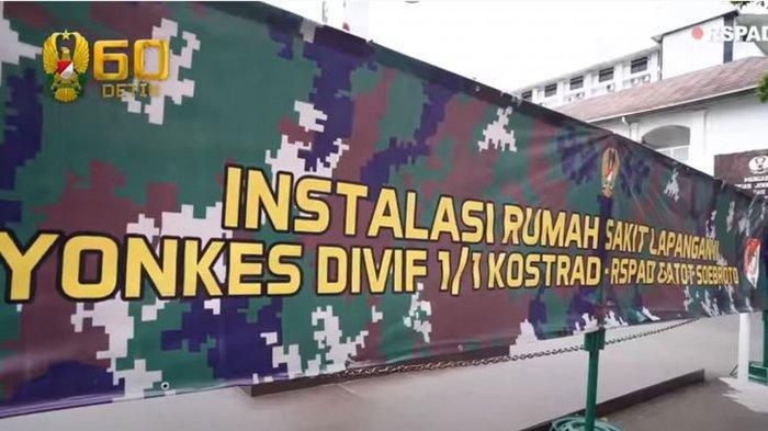 RS Lapangan Kostrad Resmi Beroperasi, Sesuai Perintah Jenderal Andika Perkasa ke Pangkostrad Dudung