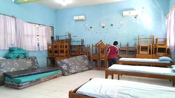 Pemkab Sidoarjo Sulap Ruang Kelas SMPN 2 Jadi Tempat Isolasi Pasien Covid-19