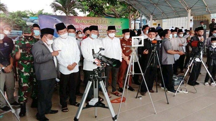 Hasil Rukyatul Hilal di Tanjung Kodok Negatif, NU-Muhammadiyah Akan Shalat Ied Bersamaan