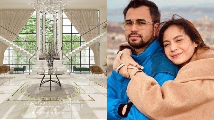 Penampakan Rumah Rp 100 Miliar Raffi Ahmad, Dilengkapi Lift Mobil, Parkiran Bisa Tampung 20 Mobil