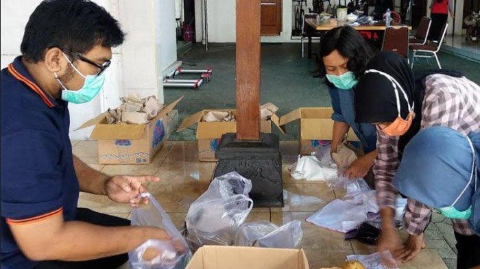 Perkuat Bantuan untuk Warga Isoman, Rumah Dinas Wali Kota Kediri pun Jadi Dapur Umum