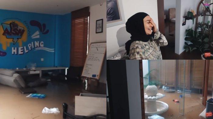 Rumah Baru Irish Bella Tenggelam Akibat Banjir Jakarta, Istri Ammar Zoni Lemas Lihat Kerusakan