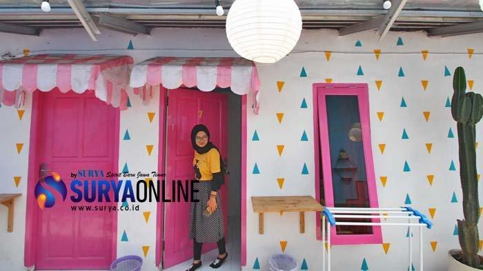 Rumah Kos Warna-Warni Jaksa Agung Kota Malang, Jadi Jujugan Menginap Backpackers yang Instragramable