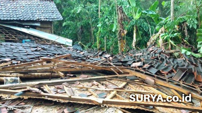 Tak Hanya di Lamongan, Angin Kencang Juga Rusak Rumah di Beberapa Desa di Bojonegoro