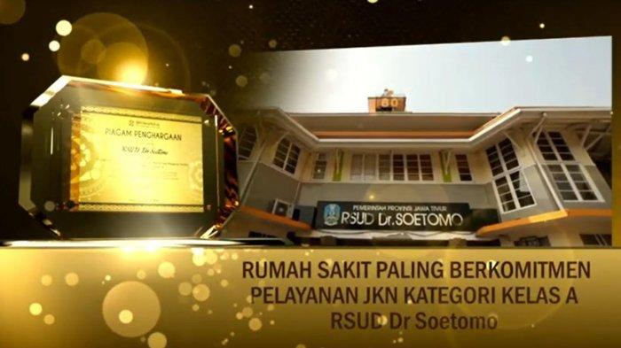 RSUD dr Soetomo Raih Penghargaan RS Paling Berkomitmen JKN