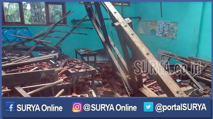 Dinas Pendidikan Jombang Incar Dana Tanggap Darurat untuk Rehab SD yang Ambruk