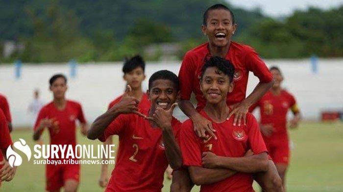 Bima Sakti Terus Pantau Pemain Persebaya Surabaya Usai Jalani Operasi di Timnas U-16 Indonsia