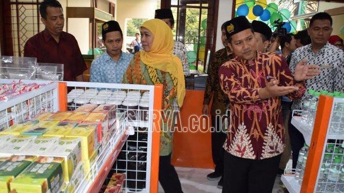 Gubernur Jatim Resmikan OPOP Mart di Kampus Unusa Jemursari Surabaya