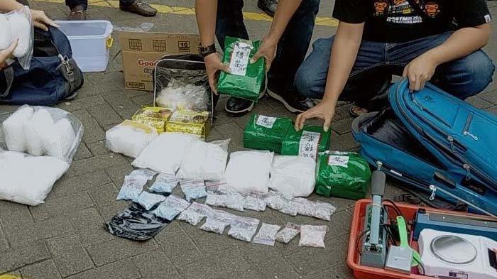Polrestabes Surabaya Temukan 25 Kilogram Sabu Dari Seorang Kurir Jaringan Malaysia-Madura