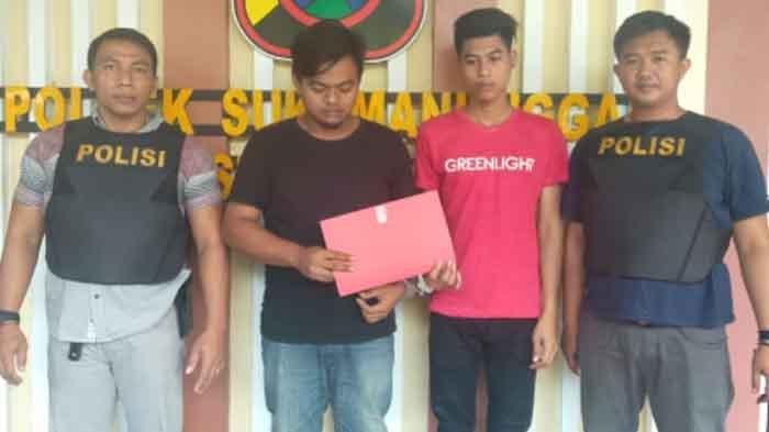 Hendak Pulang ke Bawean Gresik Seusai Beli Sabu, 2 Pemuda Ini DIringkus Anggota Polsek Sukomanunggal