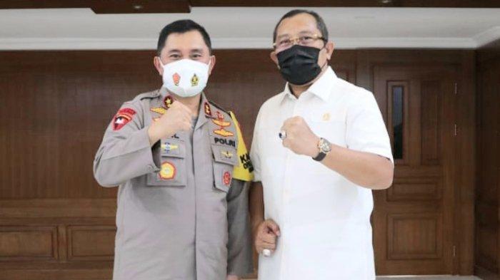 Sahat Tua Simanjuntak : Selamat dan Sukses Pak Irjen Fadil, Selamat Datang Pak Irjen Nico