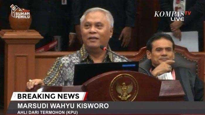 17 Saksi Prabowo-Sandi 'Cuma Dibalas' KPU dengan Dua Saksi Ahli, Ini yang Dijelaskan di Sidang MK