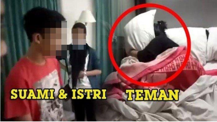 Istri Labrak Suami yang Sedang Selingkuh di Hotel, Ternyata Istri dan Selingkuhan Sama-sama Hamil