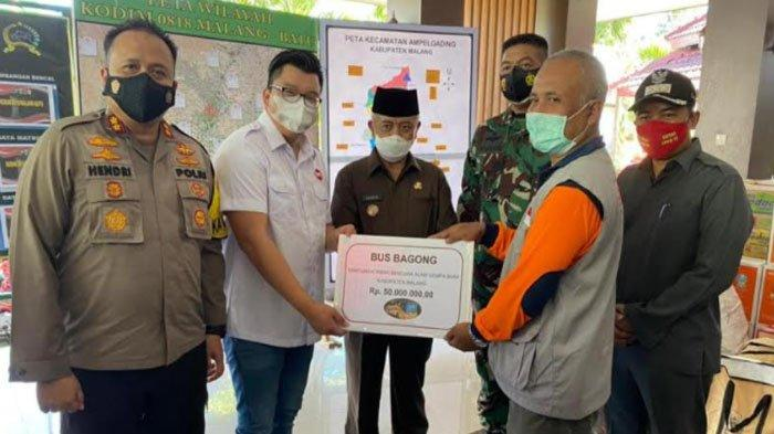 Bantuan untuk Korban Gempa Bumi di Kabupaten Malang Berdatangan