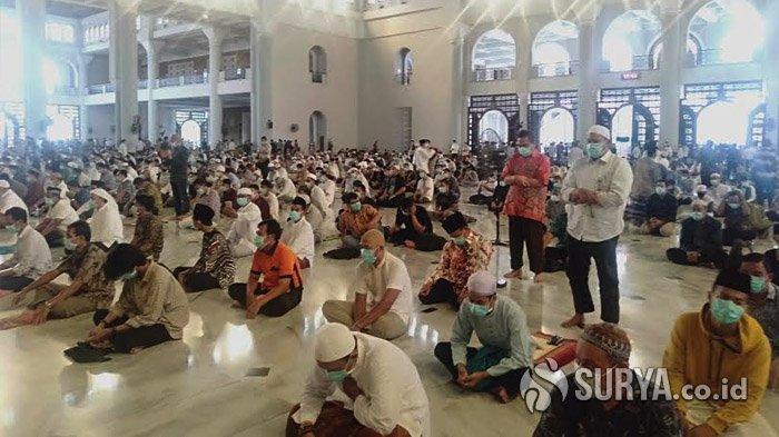 Pemerintah Imbau Umat Muslim Shalat Ied di Rumah, Pengurus Masjid Al-Akbar Baru Putuskan Senin