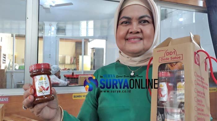 Inspirasi Usaha Sambal DD1 Susilaningsih di Tenggilis Surabaya, Modal Rp 50 Ribu Kini Ekspor ke AS