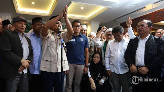 Sandiaga Uno Cuma Diam Wajahnya Pucat saat Prabowo Deklarasi Kemenangan, Priyo Budi Ungkap Fakta ini