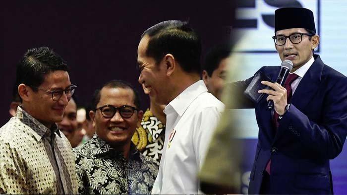Begini Jawaban Sandiaga Uno Disebut Pengganti Jokowi di Pilpres 2024, Isyarat Istana?