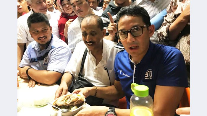 Dapat Simpati Warga di Pusat Grosir Surabaya, Sandi Ingin Jadikan Surabaya Lokomotif Ekonomi